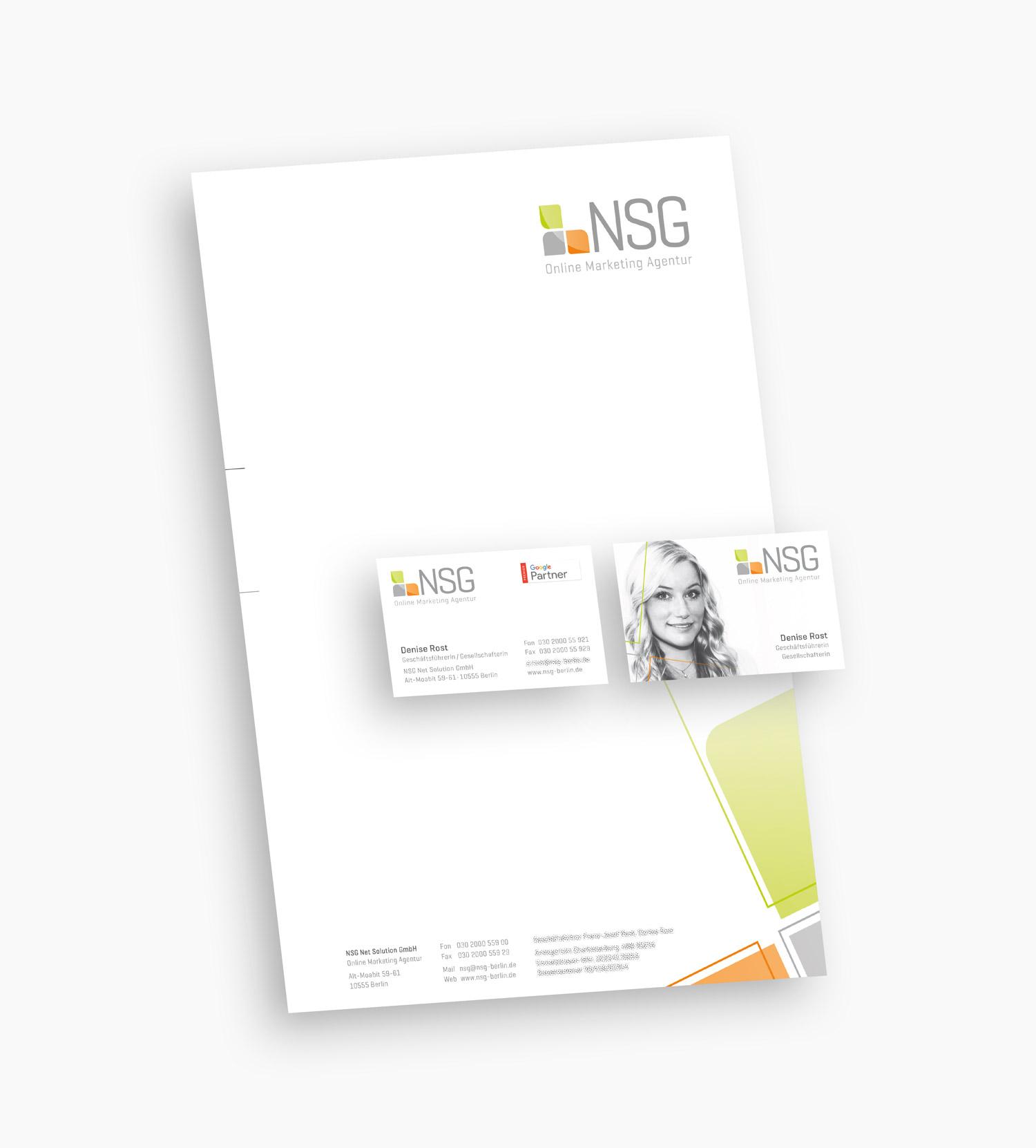 Projekt Weiterentwicklung Des Corporate Designs Der Nsg Net